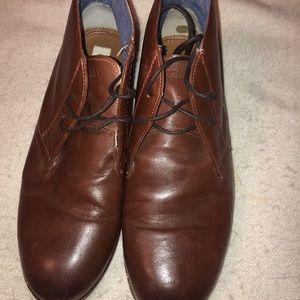 Ben Sherman Aberdeen Brown Chukka Boots 10